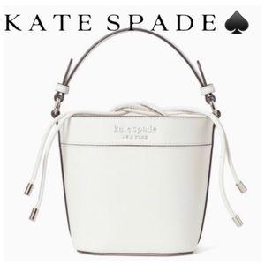 KATE SPADE CAMERON MONOTONE SMALL BUCKET BAG ♠️